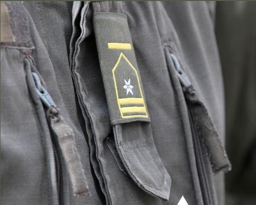 Fähnrich - Dienstgrad auf der Uniform
