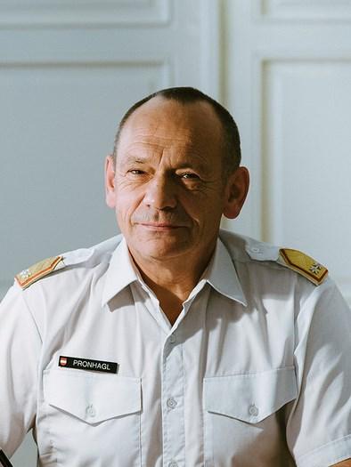GenMjr Pronhagl - stv Präsident