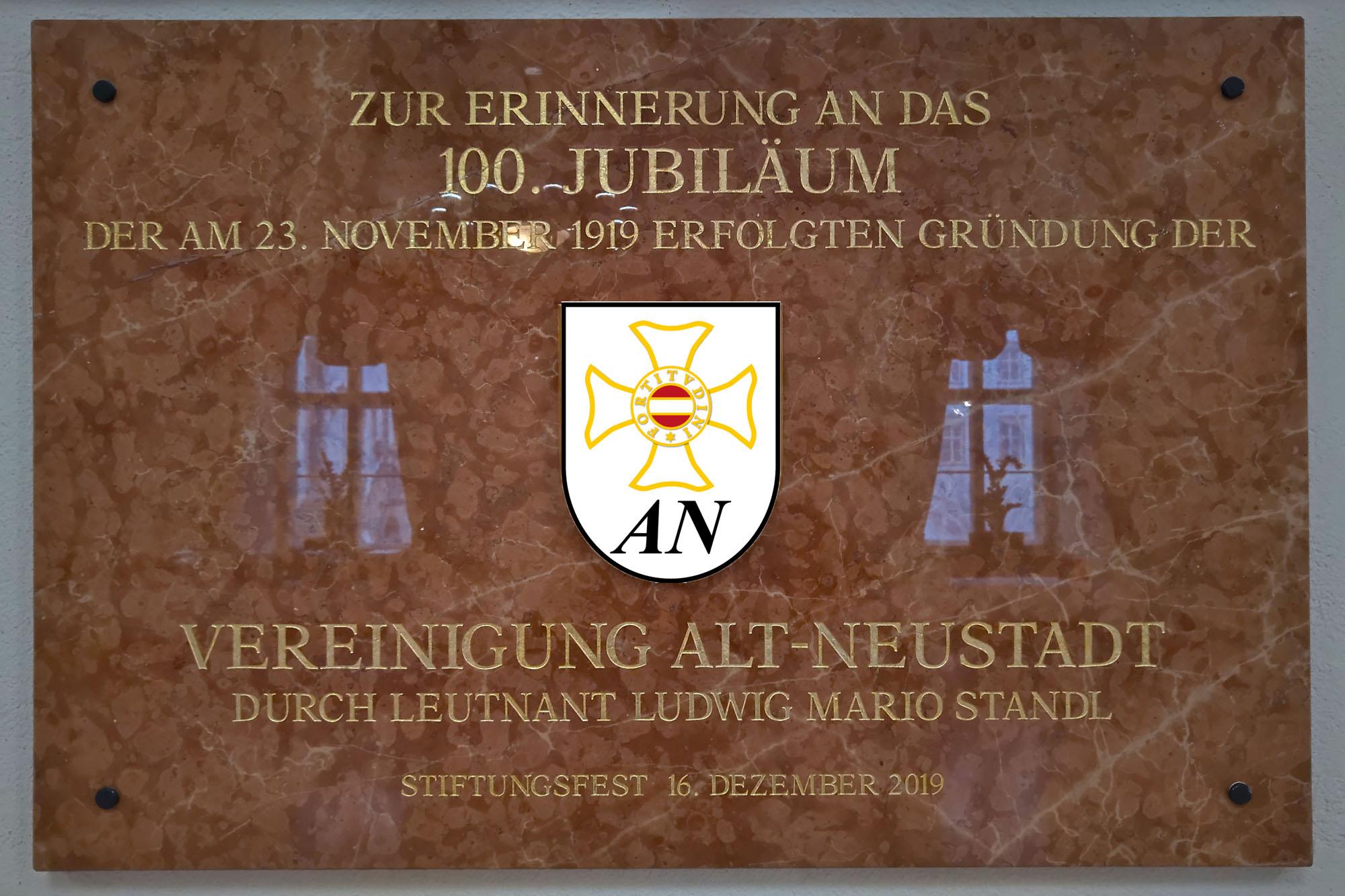 100 Jahre Alt-Neustadt und Stiftungsfest der TherMilAk