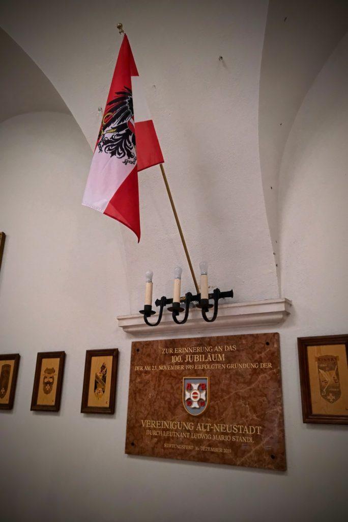 Gedenkhtafel im Alt-Neustädter Saal