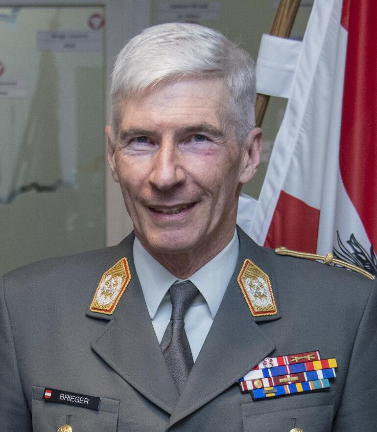Generalstabschef Robert Brieger wird höchster General der EU
